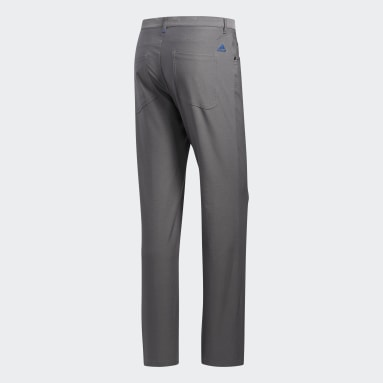Men's Golf Grey Ultimate365 Heathered Five-Pocket Pants