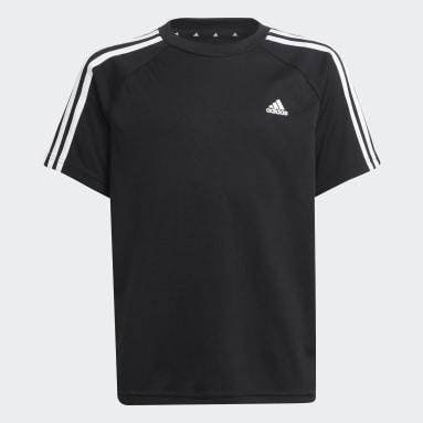 Boys Football Black adidas Sereno AEROREADY Tee