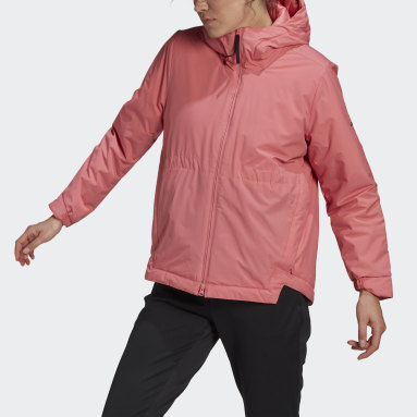 Frauen City Outdoor Traveer Insulated Winterjacke Rosa