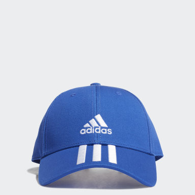 Volleybal Blauw Baseball 3-Stripes Twill Pet