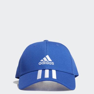 Casquette Baseball 3-Stripes Twill Bleu Tennis