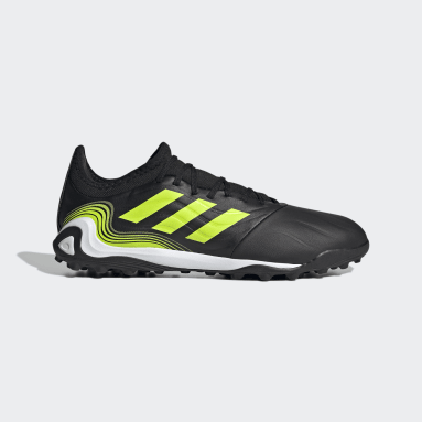 Men Soccer Black Copa Sense.3 Turf Shoes