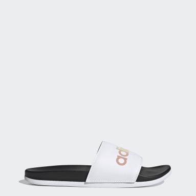 Yoga Black Adilette Comfort Sandals