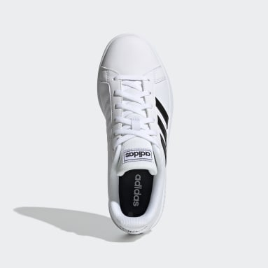 Kvinder Tennis Hvid Grand Court Base sko