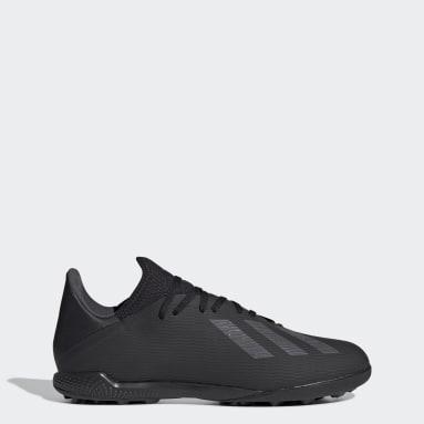 Men Football Black X 19.3 Turf Boots
