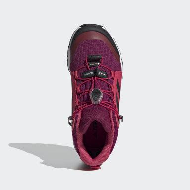Çocuklar TERREX Bordo Terrex Mid GORE-TEX Yürüyüş Ayakkabısı