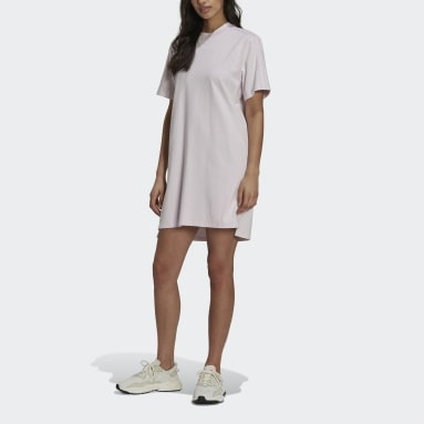 Women Originals Pink Tennis Luxe Tee Dress