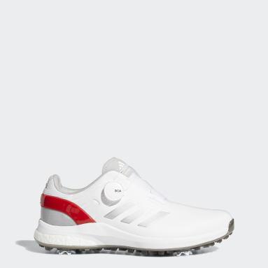 Men Golf White EQT BOA Golf Shoes
