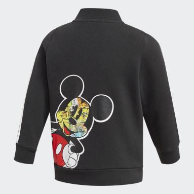 Chaqueta bómber Mickey Mouse Negro Niño Gimnasio Y Entrenamiento