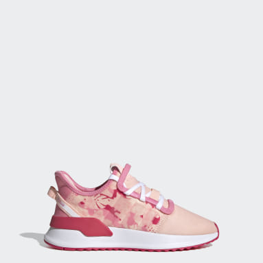 Tenis U_Path Run (UNISEX) Rosa Niño Originals