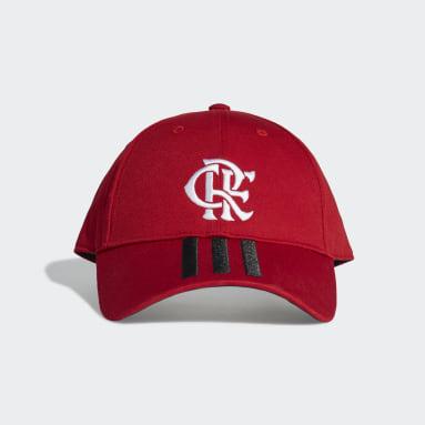 Boné Baseball CR Flamengo 1 (UNISSEX) Vermelho Futebol