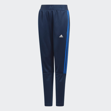 Boys Gym & Training Blue Tiro Pants