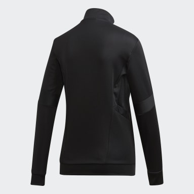 Women Soccer Black Tiro 19 Training Jacket
