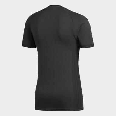 Men Gym & Training Black FreeLift Primeknit FLW Tee