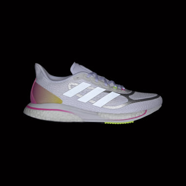 Women's Running White Supernova+ Shoes