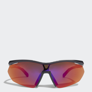 Wielrennen Zwart Sport Zonnebril SP0016