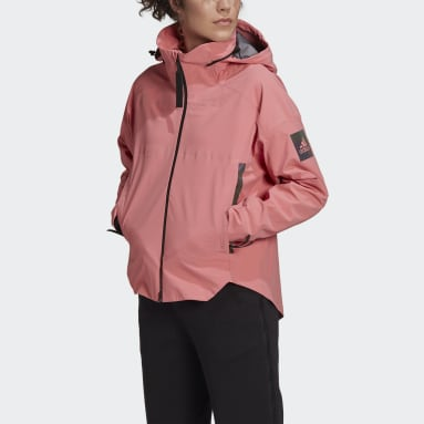 Dames City Outdoor Roze MYSHELTER Regenjack