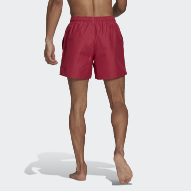 Solid Swim Shorts Różowy