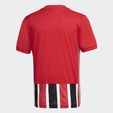 Camisa São Paulo FC 2 Vermelho Meninos Futebol