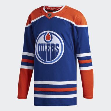 Maillot Oilers Alternatif Authentique multicolore Hockey