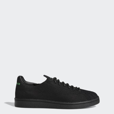 Originals Black Pharrell Williams Primeknit Superstar Shoes