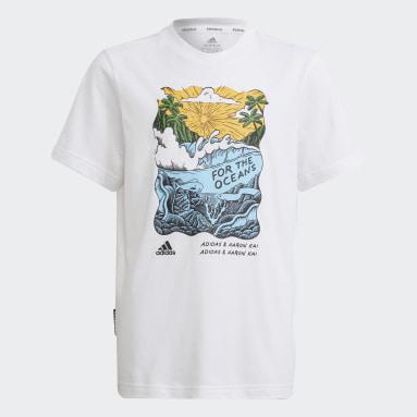 Boys Lifestyle White Aaron Kai x adidas Graphic Tee