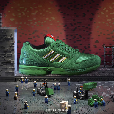 Zapatilla adidas ZX 8000 x LEGO® Verde Originals