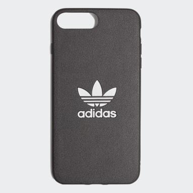 Originals Black Basic Logo Case iPhone 8+