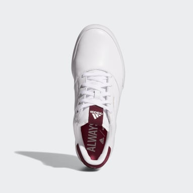 Women Golf White Adicross Retro Golf Shoes