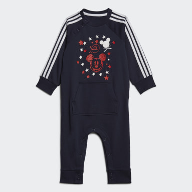 Infants Training Blue Mickey Mouse Onesie