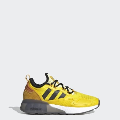 Chaussure Ninja ZX 2K Boost jaune Adolescents Originals