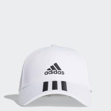 белый Бейсболка 3-Stripes