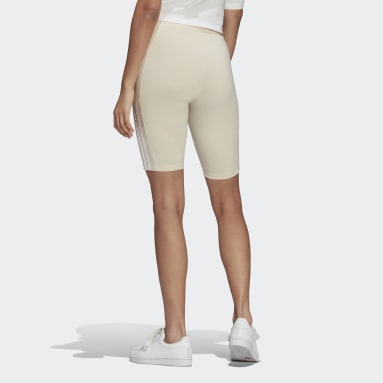 Women's Originals White No-Dye Short Tights