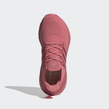 Chaussure Ultraboost 21 Rose Femmes Course