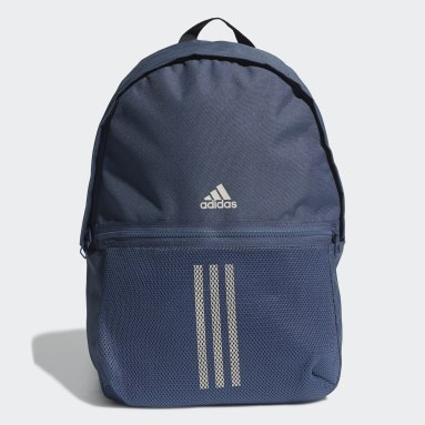 Lifestyle Blue Classic 3-Stripes Backpack