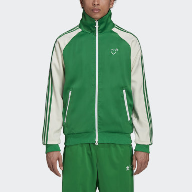 Men Originals Green Human Made Firebird Track Jacket