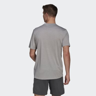 T-shirt Primeblue Designed 2 Move Heathered Sport Gris Hommes Fitness Et Training