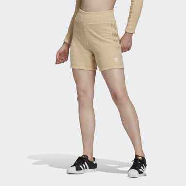 Women Originals Beige LOUNGEWEAR Shorts
