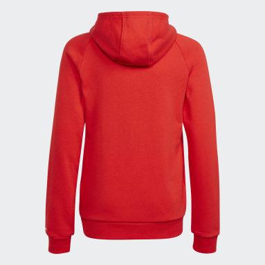 Børn Originals Rød Adicolor hættetrøje