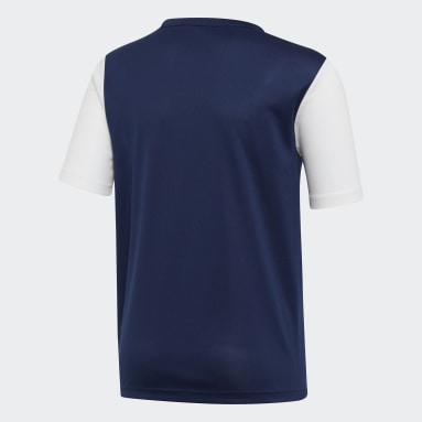Youth 8-16 Years Football Blue Estro 19 Jersey