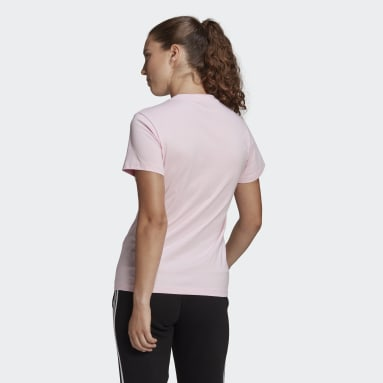 Kadın Sport Inspired Pembe LOUNGEWEAR Essentials Logo Tişört
