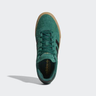 Chaussure Busenitz Vulc2 Vert Originals