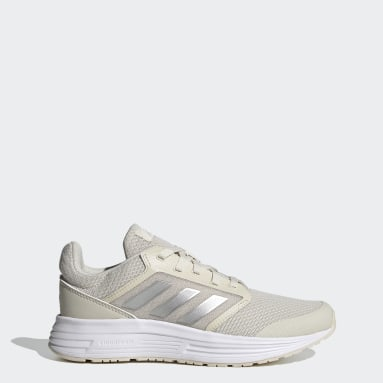 Women Running Beige Galaxy 5 Shoes