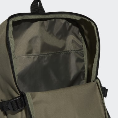 Training Green 3-Stripes Response Backpack