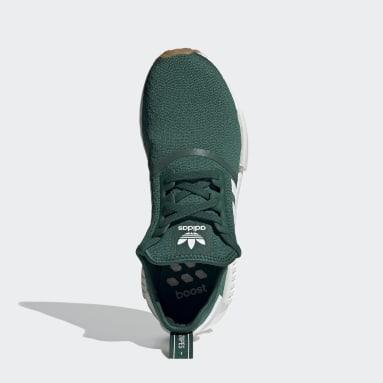 Chaussure NMD_R1 vert Hommes Originals