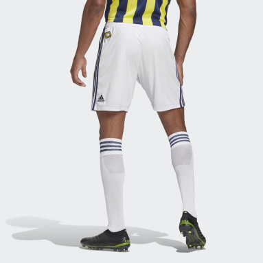 Men Football White Fenerbahçe SK 20/21 Home Shorts
