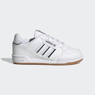 Chaussure Continental 80 Stripes Blanc Enfants Originals