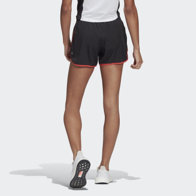 Women Running Black Marathon 20 Shorts