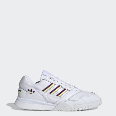 Women Originals White A.R. Trainer Shoes