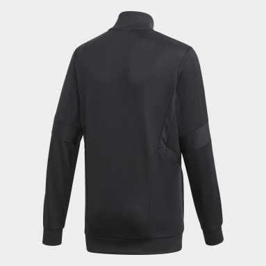 Kids Gym & Training Black Tiro 19 Training Jacket
